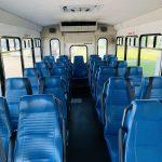 Ford E-450 25 passenger charter shuttle coach bus for sale - Gas 11