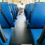 Ford E-450 25 passenger charter shuttle coach bus for sale - Gas 12