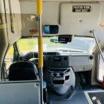 Ford E-450 25 passenger charter shuttle coach bus for sale - Gas 14