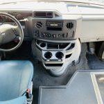 Ford E-450 25 passenger charter shuttle coach bus for sale - Gas 15