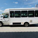 Ford E-350 20 passenger charter shuttle coach bus for sale - Gas 7