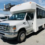 Ford E-350 20 passenger charter shuttle coach bus for sale - Gas 8