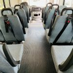 Ford E-350 20 passenger charter shuttle coach bus for sale - Gas 12