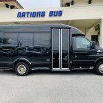 Ford E-350 13 passenger charter shuttle coach bus for sale - Gas 2