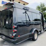 Ford E-350 13 passenger charter shuttle coach bus for sale - Gas 3