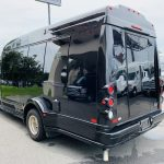 Ford E-350 13 passenger charter shuttle coach bus for sale - Gas 6