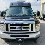 Ford E-350 13 passenger charter shuttle coach bus for sale - Gas 9
