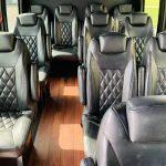 Ford E-350 13 passenger charter shuttle coach bus for sale - Gas 10