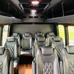 Ford E-350 13 passenger charter shuttle coach bus for sale - Gas 11