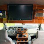Ford E-350 13 passenger charter shuttle coach bus for sale - Gas 14