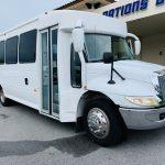 International 25 passenger charter shuttle coach bus for sale - Diesel 1
