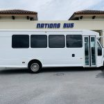 International 25 passenger charter shuttle coach bus for sale - Diesel 2