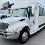 International 25 passenger charter shuttle coach bus for sale - Diesel 9