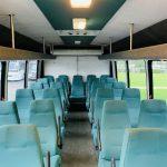 International 25 passenger charter shuttle coach bus for sale - Diesel 12