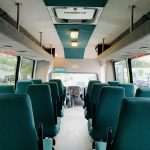 International 25 passenger charter shuttle coach bus for sale - Diesel 14