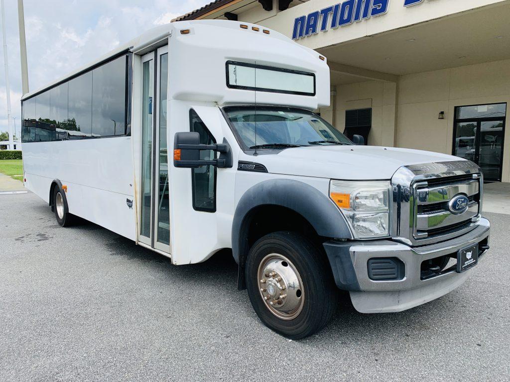 Ford 29 passenger charter shuttle coach bus for sale - Diesel