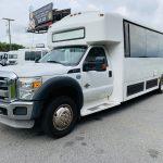 Ford 29 passenger charter shuttle coach bus for sale - Diesel 9