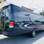 International 37 passenger charter shuttle coach bus for sale - Diesel 3