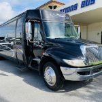 International 37 passenger charter shuttle coach bus for sale - Diesel 1