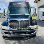 International 37 passenger charter shuttle coach bus for sale - Diesel 8