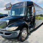 International 37 passenger charter shuttle coach bus for sale - Diesel 7