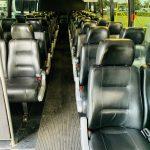 International 37 passenger charter shuttle coach bus for sale - Diesel 9