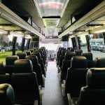 International 37 passenger charter shuttle coach bus for sale - Diesel 12