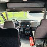 International 37 passenger charter shuttle coach bus for sale - Diesel 13