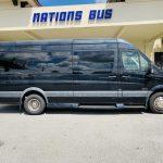 Mercedes Benz 13 passenger charter shuttle coach bus for sale - Diesel 2