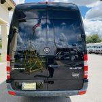 Mercedes Benz 13 passenger charter shuttle coach bus for sale - Diesel 4