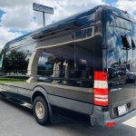 Mercedes Benz 13 passenger charter shuttle coach bus for sale - Diesel 6