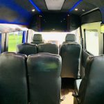 Mercedes Benz 13 passenger charter shuttle coach bus for sale - Diesel 13