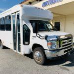 Ford E-350 20 passenger charter shuttle coach bus for sale - Gas 1