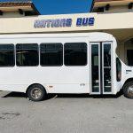Ford E-350 20 passenger charter shuttle coach bus for sale - Gas 2