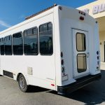 Ford E-350 20 passenger charter shuttle coach bus for sale - Gas 6