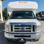 Ford E-350 20 passenger charter shuttle coach bus for sale - Gas 9