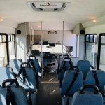 Ford E-350 20 passenger charter shuttle coach bus for sale - Gas 13