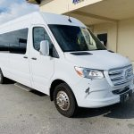 Mercedes Benz 11 passenger charter shuttle coach bus for sale - Diesel 1