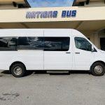 Mercedes Benz 11 passenger charter shuttle coach bus for sale - Diesel 2