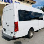 Mercedes Benz 11 passenger charter shuttle coach bus for sale - Diesel 3