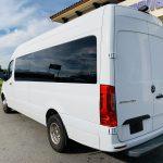 Mercedes Benz 11 passenger charter shuttle coach bus for sale - Diesel 7