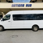 Mercedes Benz 11 passenger charter shuttle coach bus for sale - Diesel 8