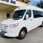 Mercedes Benz 11 passenger charter shuttle coach bus for sale - Diesel 9