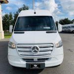 Mercedes Benz 11 passenger charter shuttle coach bus for sale - Diesel 10