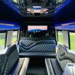 Mercedes Benz 11 passenger charter shuttle coach bus for sale - Diesel 11