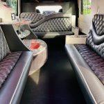 Mercedes Benz 11 passenger charter shuttle coach bus for sale - Diesel 12
