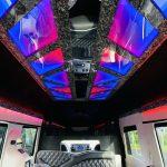 Mercedes Benz 11 passenger charter shuttle coach bus for sale - Diesel 13