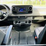 Mercedes Benz 11 passenger charter shuttle coach bus for sale - Diesel 17
