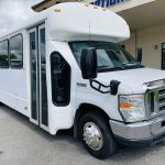 E-450 28 passenger charter shuttle coach bus for sale - Gas 1