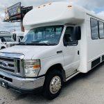 E-450 28 passenger charter shuttle coach bus for sale - Gas 8
